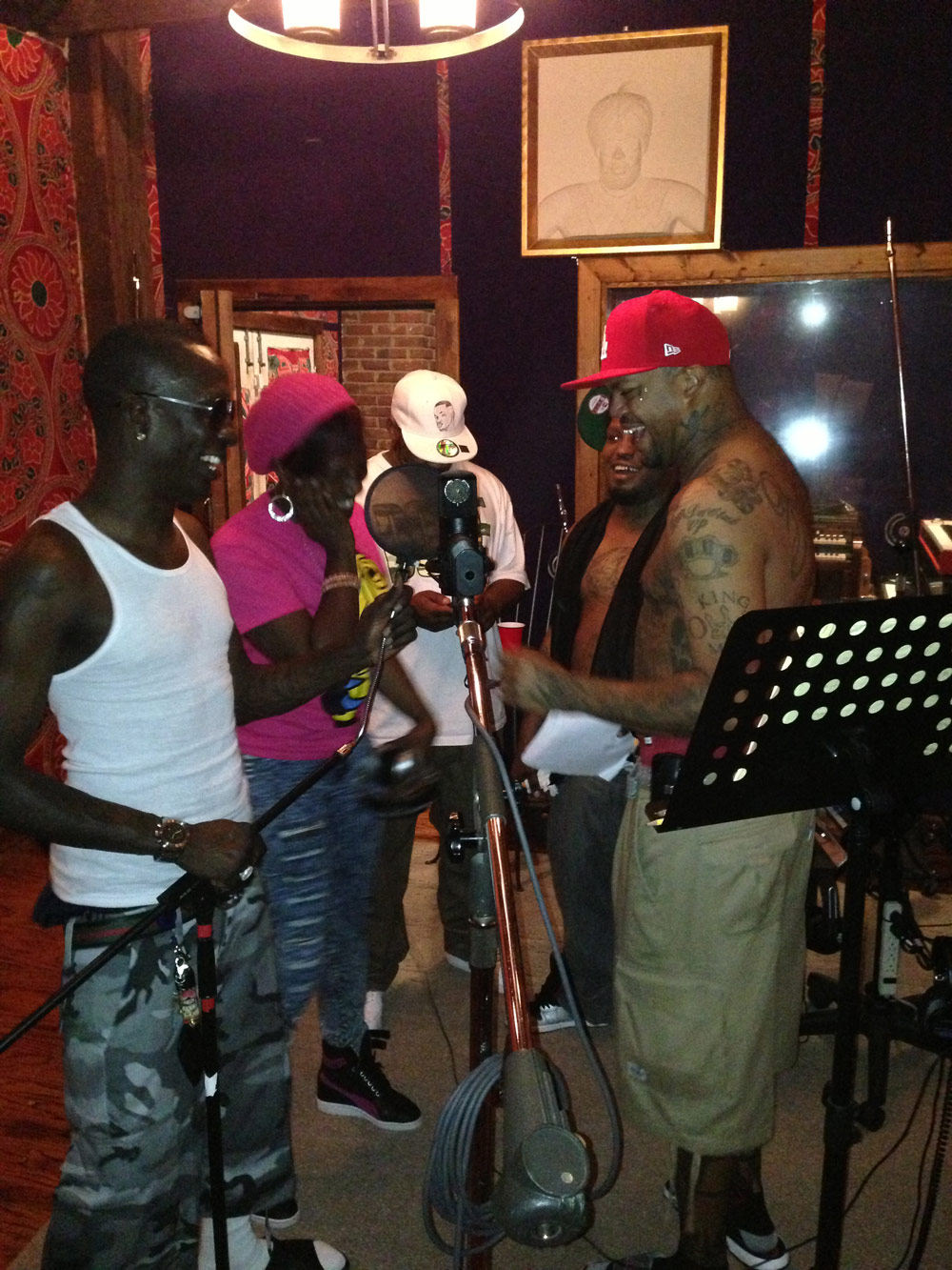 Da Mafia 6ix In the Studio